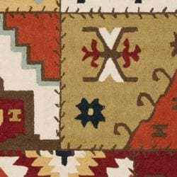 Safavieh Hand-hooked Southwest Wool Rug (7'6 x 9'9)