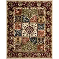 Safavieh Handmade Heritage Timeless Traditional Multi/ Red Wool Rug - 6' x 9'