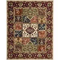 Safavieh Handmade Heritage Timeless Traditional Multi/ Red Wool Rug - 8'3 x 11'