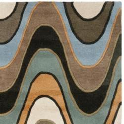 Safavieh Handmade Chatham Voyage Multi New Zealand Wool Rug (4' x 6')