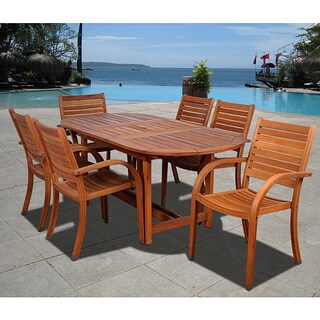 Clay Alder Home Barclay 7-piece Oval Dining Set