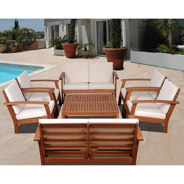 Amazonia pacific 8 piece conversation living room set for 8 piece living room furniture