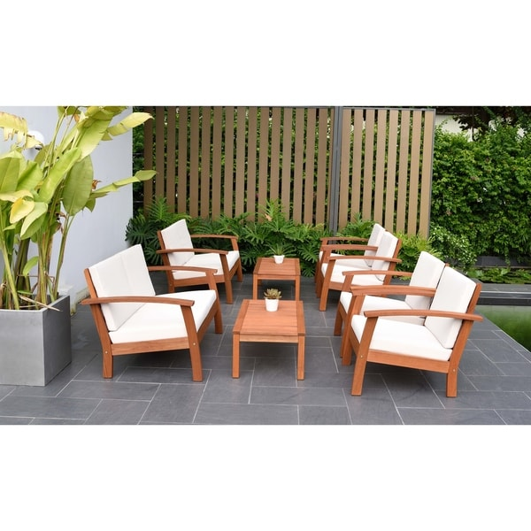 Amazonia Pacific 8 Piece Conversation Living Room Set