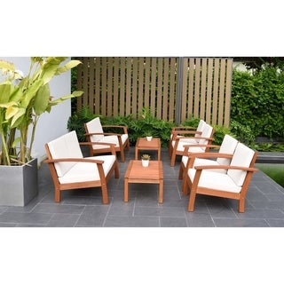 Link to Orleans 8-piece Living Room Set by Havenside Home Similar Items in Outdoor Loveseat