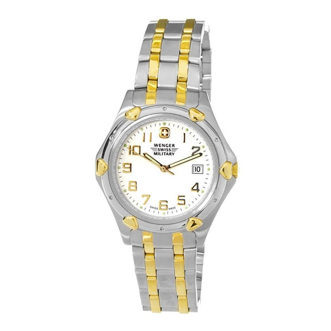 Wenger Men's Swiss Military Standard Issue Two Tone Watch