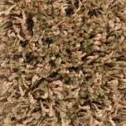 Woven Beige Luxurious Soft Shag Rug (6'7 x 9'6) - Thumbnail 1