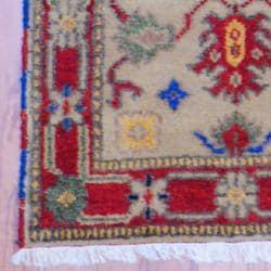 Herat Oriental Indo Hand-knotted Kazak Wool Rug (2' x 3') - Thumbnail 2
