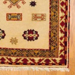Herat Oriental Indo Hand-knotted Kazak Wool Rug (3' x 5') - Thumbnail 2