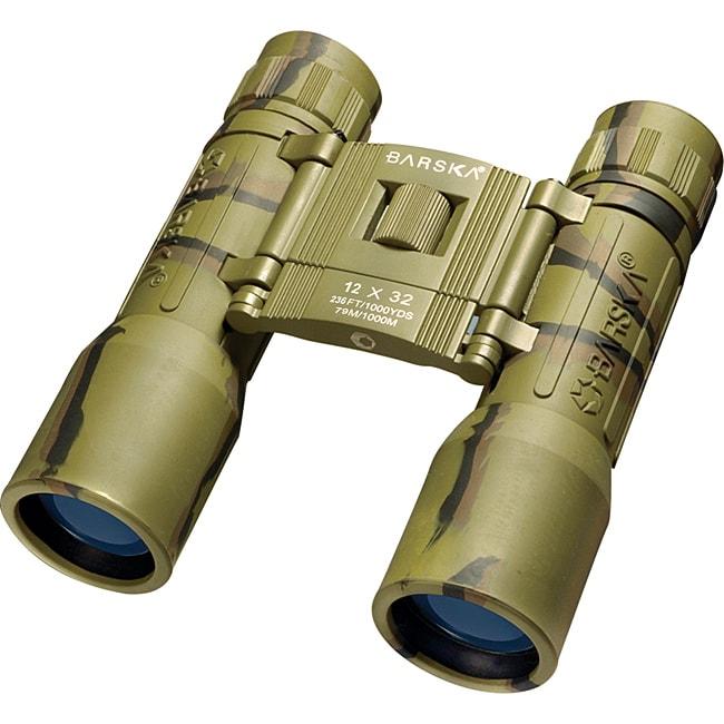 12x32 Lucid View Compact Camouflage Binoculars