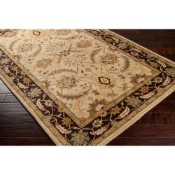 Hand-tufted White Clifford New Zealand Wool Rug (3'3 x 5'3) - Thumbnail 1