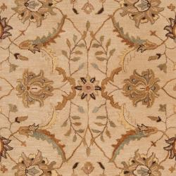 Hand-tufted White Clifford New Zealand Wool Rug (3'3 x 5'3) - Thumbnail 2
