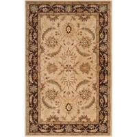 Hand-tufted White Clifford New Zealand Wool Area Rug (3'3 x 5'3) - 3'3 x 5'3