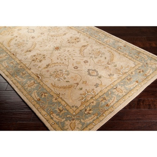 Hand-tufted Tan Clifford New Zealand Wool Rug (3'3 x 5'3)