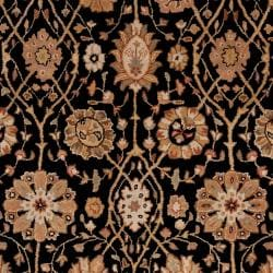Hand-tufted Black Clifford New Zealand Wool Rug (3'3 x 5'3) - Thumbnail 2