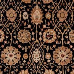 Hand-tufted Black Clifford New Zealand Wool Rug (3'3 x 5'3)
