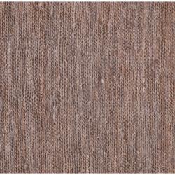 Hand-woven Brown Doctate Natural Fiber Hemp Rug (3'3 x 5'3)