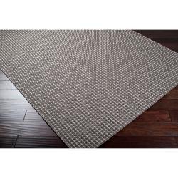 Woven Gray Elton Indoor/Outdor Rug (3'11 x 5'7) - Thumbnail 1