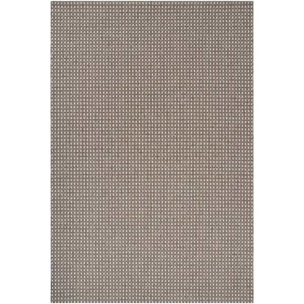 Woven Gray Elton Indoor/Outdor Area Rug - 3'11 x 5'7
