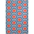 Hand-woven White Faithful Wool Area Rug (3'6 x 5'6)