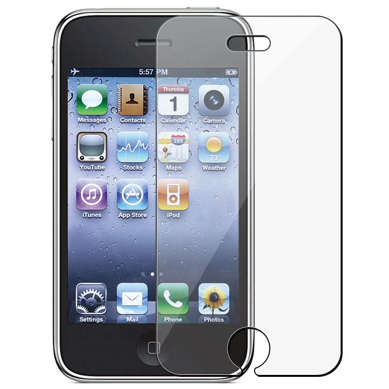 INSTEN Clear Screen Protector for Apple iPhone 3G/ 3GS - Thumbnail 0