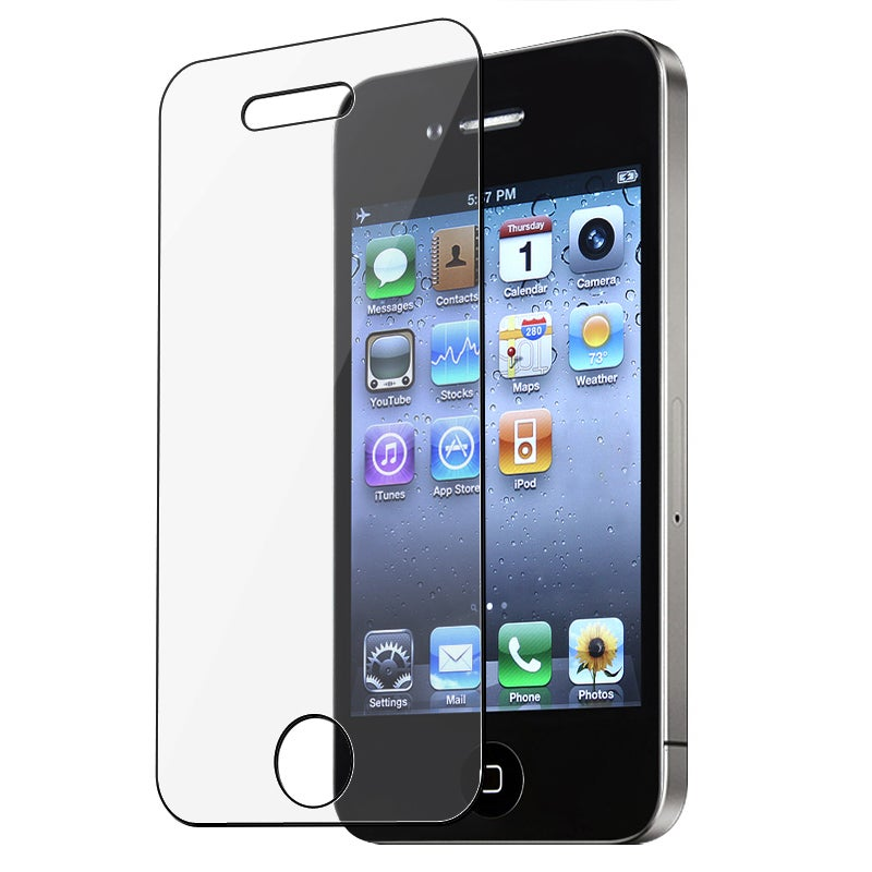 INSTEN Clear Self-adhering Screen Protector for Apple iPhone 4/ 4S - Thumbnail 0
