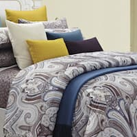 Budapest Queen-size 8-piece Cotton Comforter Set - Multi
