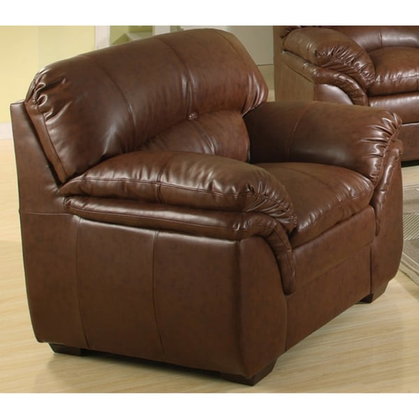 Joyce Bonded Leather Chair