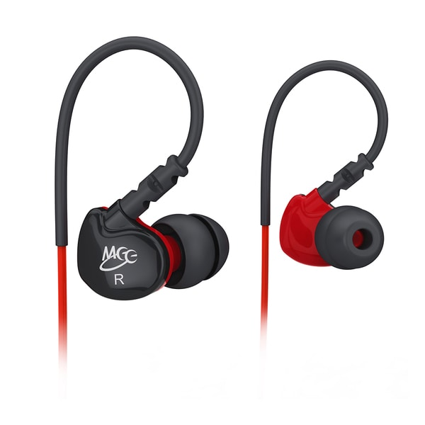MEElectronics Sport-Fi S6 Noise Isolating Memory Wire In-Ear Sports Headphones