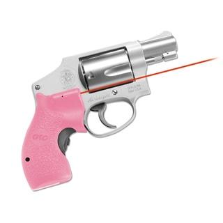 Crimson Trace Pink J Frame Round Butt Polymer Laser Grip