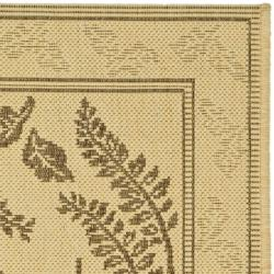 Safavieh Ferns Natural/ Brown Indoor/ Outdoor Rug (2 x 3'7) - Thumbnail 1