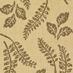 Safavieh Ferns Natural/ Brown Indoor/ Outdoor Rug (2 x 3'7) - Thumbnail 2