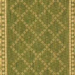 Safavieh Royal Olive Green/ Natural Indoor/ Outdoor Rug (2' x 3'7) - Thumbnail 2