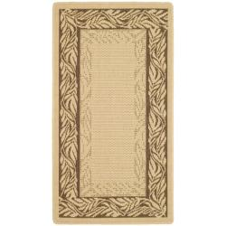 Safavieh Poolside Natural/Brown/Tan Indoor/Outdoor Rug (2' x 3'7)