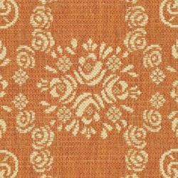Safavieh Garden Elegance Terracotta/ Natural Indoor/ Outdoor Rug (2' x 3'7) - Thumbnail 2