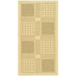 Safavieh Lakeview Natural/ Brown Indoor/ Outdoor Rug (2' x 3'7)