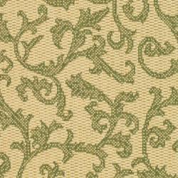 "Safavieh Mayaguana Natural/ Olive Green Indoor/ Outdoor Rug (2' x 3'7"") - Thumbnail 2"