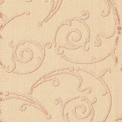 "Safavieh Oasis Scrollwork Natural/ Terracotta Indoor/ Outdoor Rug (2' x 3'7"") - Thumbnail 2"