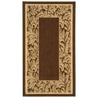 Safavieh Paradise Brown/ Natural Indoor/ Outdoor Rug - 2' x 3'7