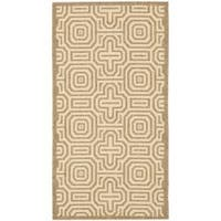 Safavieh Matrix Brown/ Natural Indoor/ Outdoor Rug - 2' x 3'7