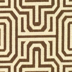 Safavieh Matrix Chocolate/ Natural Indoor/ Outdoor Rug (2' x 3'7) - Thumbnail 2