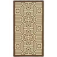 Safavieh Matrix Chocolate/ Natural Indoor/ Outdoor Rug - 2' x 3'7