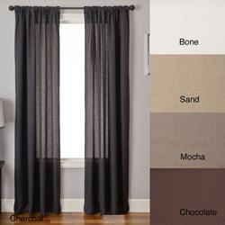 Lucid 84-inch Rod Pocket Curtain Panel