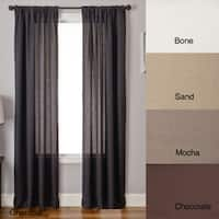 Softline Lucid 84-inch Rod Pocket Curtain Panel