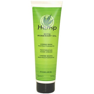 Perlier Hemp with Rosemary Oil Restorative Hand Cream
