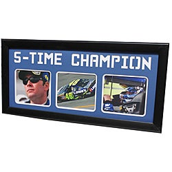 Nascar Jimmie Johnson 'Five-time Champion' Photo Frame