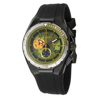 Technomarine Men's Cruise Steel Quartz Watch with Green Dial