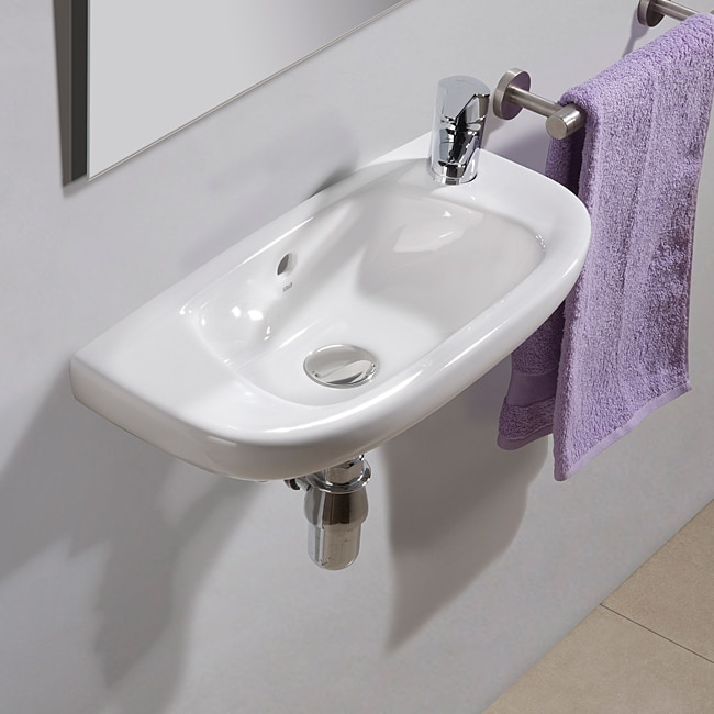 Bissonnet Sena Ceramic Bathroom Sink