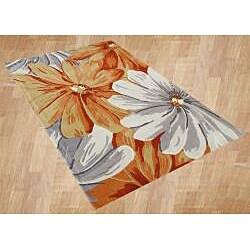 Alliyah Handmade Eastern Colors New Zealand Blend Wool Rug (8' x 10') - Thumbnail 1