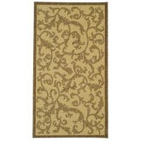 Safavieh Mayaguana Natural/ Brown Indoor/ Outdoor Rug - 2' x 3'7