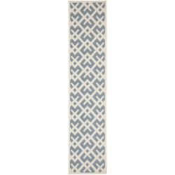 Safavieh Poolside Blue/ Bone Indoor Outdoor Rug (2' x 3'7)